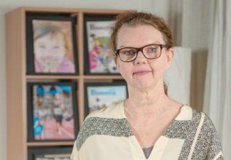 Porträttbild av Paula Hammerskog