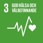 Pulsen av hjärtslag, globalt mål: God hälsa och välbefinnande
