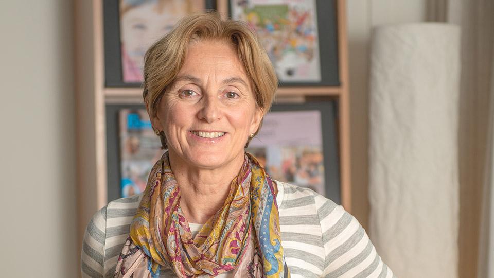 Porträttbild av Marit Lambrechts, VD Espira