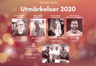 Vinnare av AcadeMedias ledarutmärkelser 2020