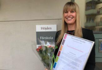 Åsa Broander är årets kvalitetsutvecklare inom AcadeMedia