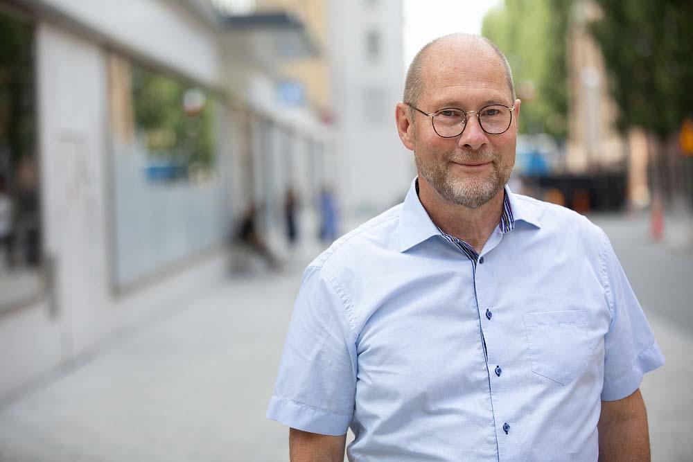 Porträttbild av AcadeMedias styrelseordförande, Anders Bülow