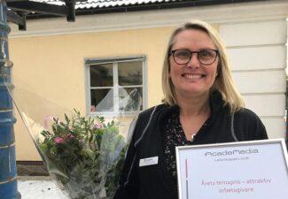Berit Olsson gör Karin Boyeskolan till en attraktiv arbetsplats