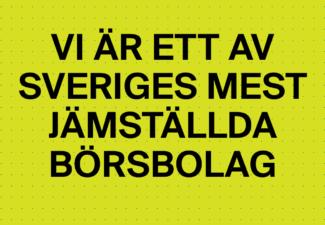 AcadeMedia ett av Sveriges mest jämställda börsbolag
