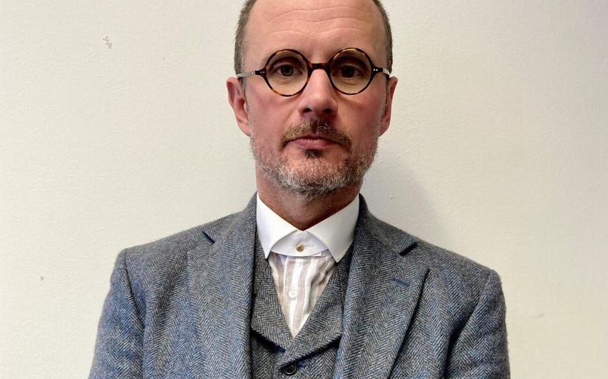 Porträttbild på styrelseledamot Christian Liljeros