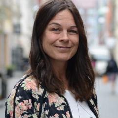 Porträtt på Lisa Moll Börjesson