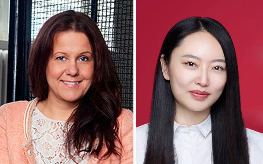 Maria Sandin och Zhenhong Ji